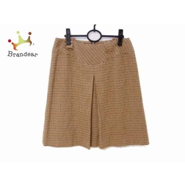 ニジュウサンク 23区 スカート サイズ46 XL レディース 美品 千鳥格子   スペシャル特価 20190817