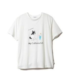 [マルイ] 【GELATOPIQUEHOMME】ドッグワンポイントTシャツ/ジェラートピケオム(GELATO PIQUE HOMME)