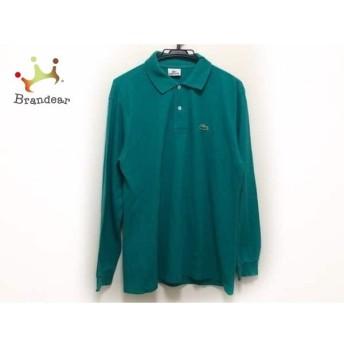 ラコステ Lacoste 長袖ポロシャツ サイズ5 XL メンズ グリーン スペシャル特価 20190816