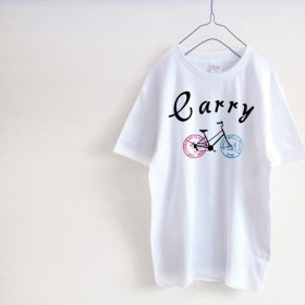 Carry 自転車Tシャツ