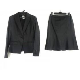 【中古】 ミッシェルクラン MICHELKLEIN スカートスーツ サイズ38 M レディース ダークグレー