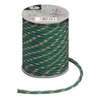 パール金属 キャプテンスタッグ キャンプ テント カラー ロープ 紐  径5mm×20m グリーンM-9196