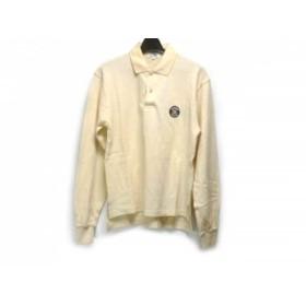 【中古】 シナコバ SINACOVA 長袖ポロシャツ サイズS メンズ 美品 ベージュ LUPO DI MARE