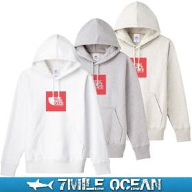 7MILE OCEAN/メンズ/パーカー/プルオーバ パーカー/スウェット/ヘビーウェイト/裏起毛/ホワイト/グレー/ベージュ系/人気ブランド/おすすめ/コーデ S M L XL