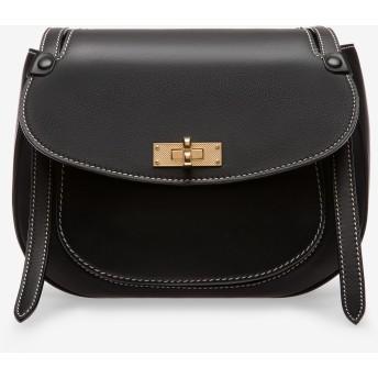 B Turn Saddle Bag Large ブラック