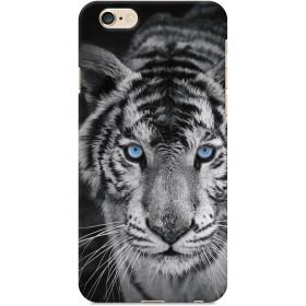 ヴァルバロッサ [iPhone6/6s専用 ハード スマートフォン スマホ ケース カバー] モノクロ アニマル photo ホワイトタイガー