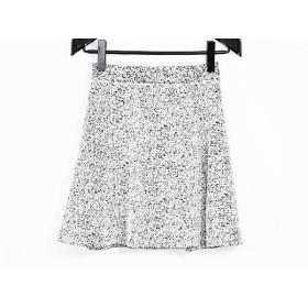 【中古】 セオリー theory ミニスカート サイズS レディース 美品 白 黒
