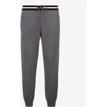 Cotton Knit Lounge Trousers グレー