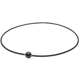 ファイテン ラクワネックX100ミラーボール 45cm 0214TG640052 ブラックゴールド
