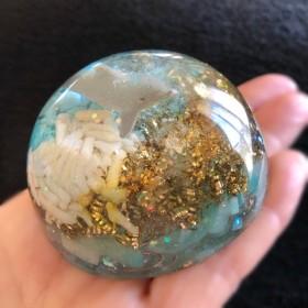 ドルフィン 半球型オルゴナイト