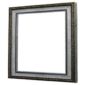 アルナ 樹脂フレーム デッサン額 1644 ホワイト 正方形400角 13686 (1237927)