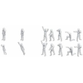 ビルダーズパーツ MSフィギュア01(ホワイト)  1/144スケール(未使用品)