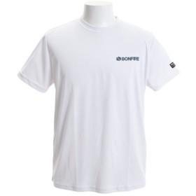 ボンファイア(Bonfire) AXENEEDLE ショートスリーブTシャツ 50BNF9SCD2041 WHT (Men's)