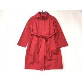 【中古】 トゥモローランド TOMORROWLAND コート サイズ38 M レディース レッド collection/春・秋物