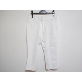 【中古】 ビースリー B3 B-THREE パンツ サイズ38 M レディース 白
