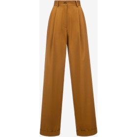 High Waisted Trousers ブラウン