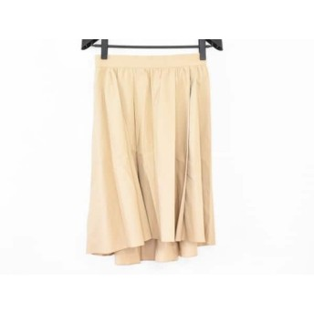 【中古】 セオリーリュクス theory luxe スカート サイズ40 M レディース 美品 カーキ