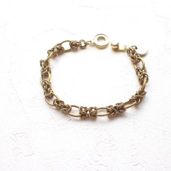 シンプル-真鍮製ブレスレット