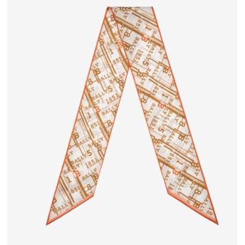 1851 Chain Print Silk Bandeau マルチカラー
