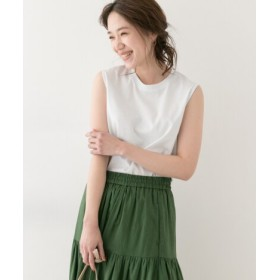 ROSSO(ロッソ) トップス Tシャツ・カットソー F by ROSSO ノースリーブTシャツ