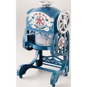 (アウトレット) ドウシシャ 本格電動ふわふわ氷かき器 DCSP-1951 ブルー系