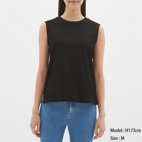 (GU)カラースリーブレスT BLACK XL