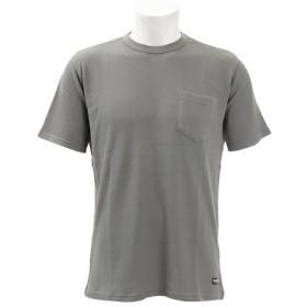 ティア(TYR) 【ゼビオ限定】 ワッフル半袖Tシャツ クルーネック TWSLDPK-19SRL GRY (Men's)