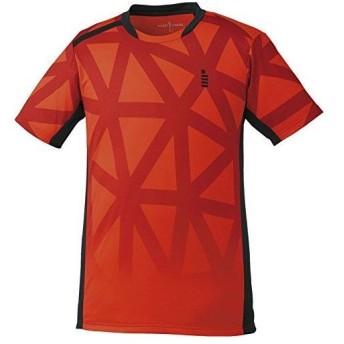 ゴーセン ゲームシャツ (T1726) [色 : レッド] [サイズ : LL]