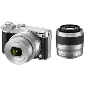 Nikon ミラーレス一眼 Nikon1 J5 ダブルズームキット シルバー (管理:680540)