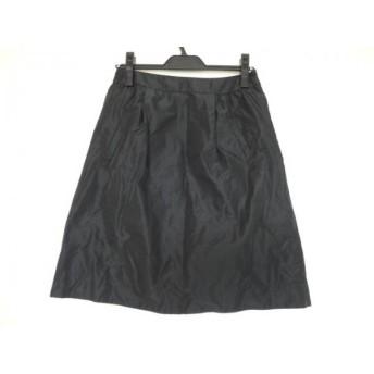 【中古】 マーレンダム MARLENEDAM スカート サイズ40 M レディース 黒