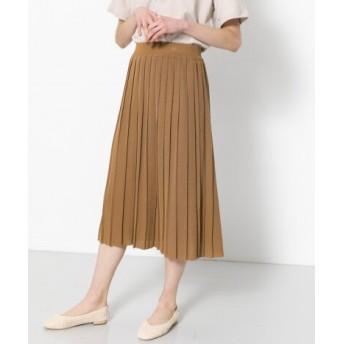SENSE OF PLACE(センスオブプレイス) スカート スカート ニットプリーツスカート