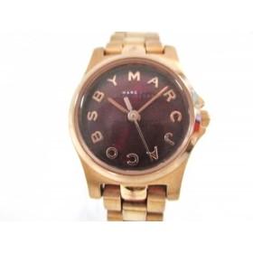 【中古】 マークジェイコブス MARC BY MARC JACOBS 腕時計 MBM3256 レディース ボルドー