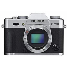 【新品】 FUJIFILM ミラーレス一眼 X-T10 ボディ シルバー X-T10-S