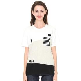 [マルイ] 【ユニセックス】パネルTシャツ/トレインビューティフルシャドー/グラニフ(graniph)