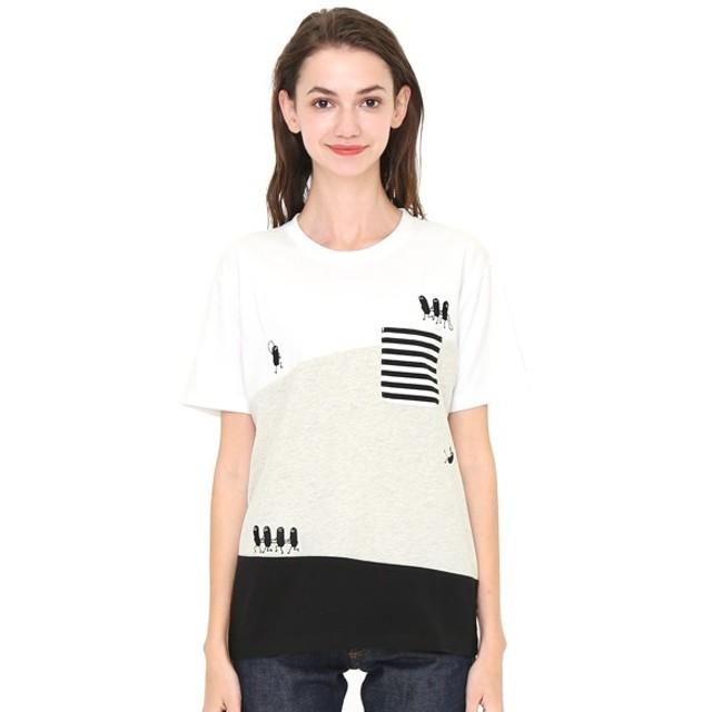 [マルイ]【セール】【ユニセックス】パネルTシャツ/トレインビューティフルシャドー/グラニフ(graniph)