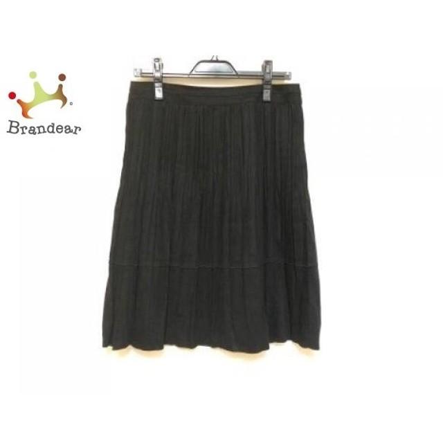 ニジュウサンク 23区 スカート サイズ40 M レディース 黒 プリーツ   スペシャル特価 20190817