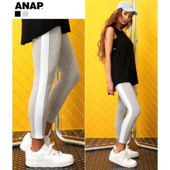 【セール開催中】ANAP(アナップ)ワイドラインレギンス