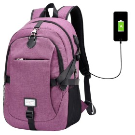 2019新発売!!USB付きリュックサック!スマホなどを充電できるリュックなんて、便利すぎる!!しかもプチプラ!!4色あり