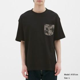 (GU)ビッグT(半袖)nowartt2 BLACK S