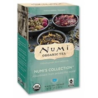ヌミズコレクション(ハーブティー アソートパック) 16回分 Numi Tea(ヌミティー)