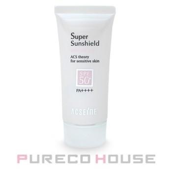 アクセーヌ スーパーサンシールド ブライトフィット (日やけ止め乳液) 顔・からだ用 SPF50+・PA++++ 40g