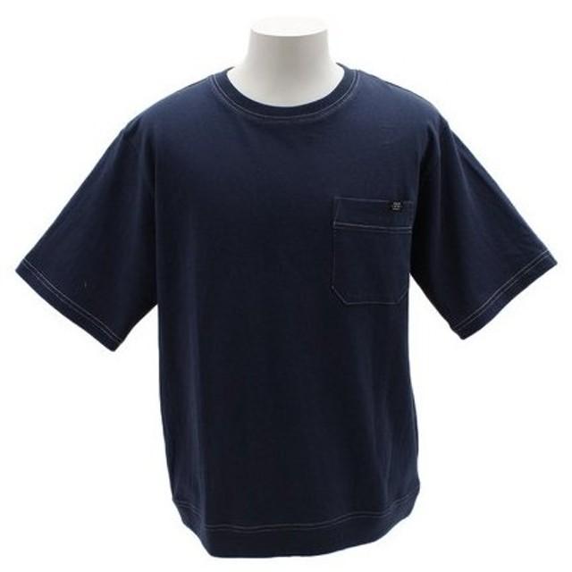 パワー・トゥ・ザ・ピープル(POWER TO THE PEOPLE) ハイショクトレーナーTシャツ 9512147-63BLU (Men's)