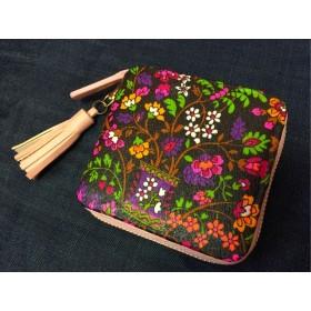 小さなお花達のミニ財布