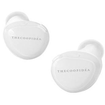 ザクープアイディア CI-0004 完全ワイヤレス Bluetoothイヤホン(ホワイト)THECOOPIDEA BEANS WHITE[CI0004]【返品種別A】