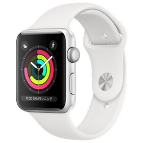Apple Watch Series 3 GPSモデル 42mm MTF22J/A ホワイトスポーツバンド