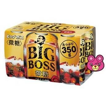 サントリー BOSS ビッグボス 微糖 缶 350g×6本入×4パック 【合計24本】 ボス /飲料