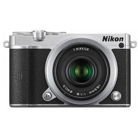 Nikon 1 J5 ダブルレンズキット シルバー [デジタルミラーレス一眼カメラ(2081万画素)]