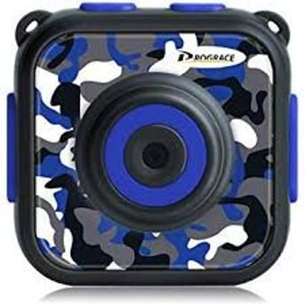 子供デジカメ IP68対応 30M防水 4倍ズーム 1.77インチ 1080P録画 ブルー MYR