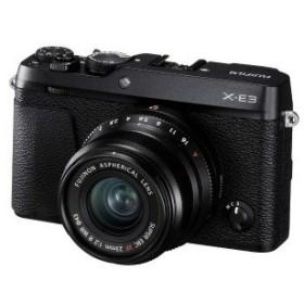 富士フイルム ミラーレス一眼カメラ X−E3(XF23mmF2レンズキット) ブラック