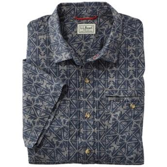 メンズ・オッター・クリフ・シャツ、半袖 プリント/Men's Otter Cliff Shirt Short-Sleeve Print